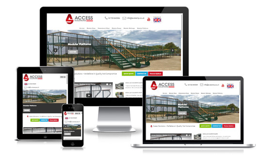 Access Solutions - Web Designer Stoke on Trent