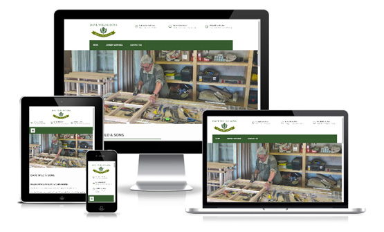 Dave Wild & Sons Joinery - Web Designer Stoke on Trent