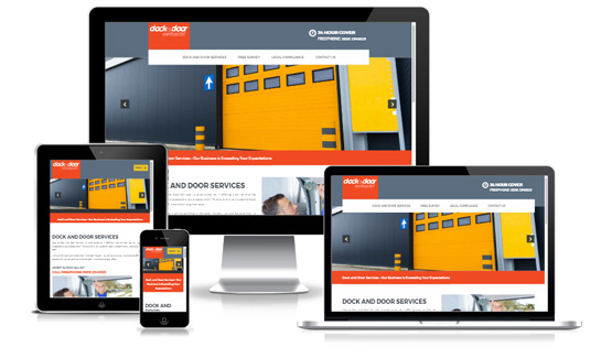 Dock and Door Services  - Web Designer Stoke on Trent