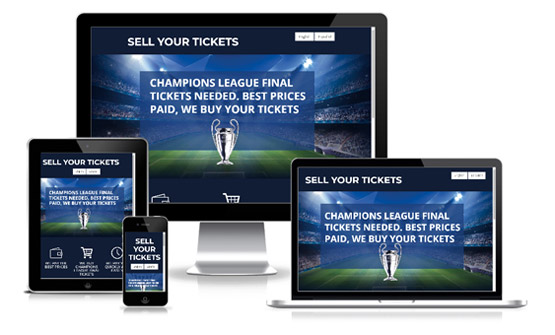 Manchester City Hospitality Packages  - Web Designer Stoke on Trent