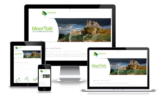 MoorTalk Telecommunications - Web Designer Stoke on Trent