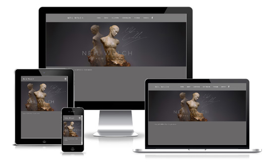 Neil Welch Bronze Sculptor Artist - Web Designer Stoke on Trent