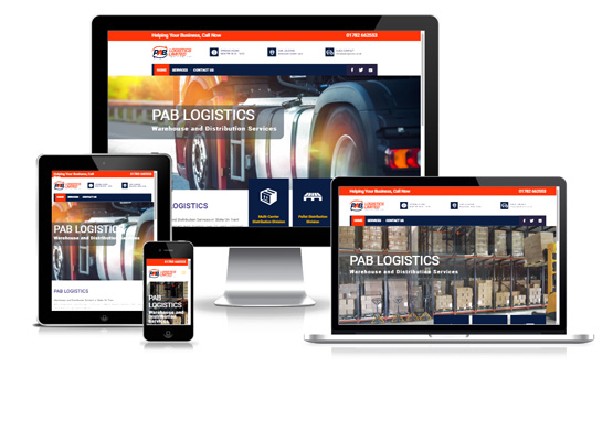 PAB Logistics - Web Designer Stoke on Trent