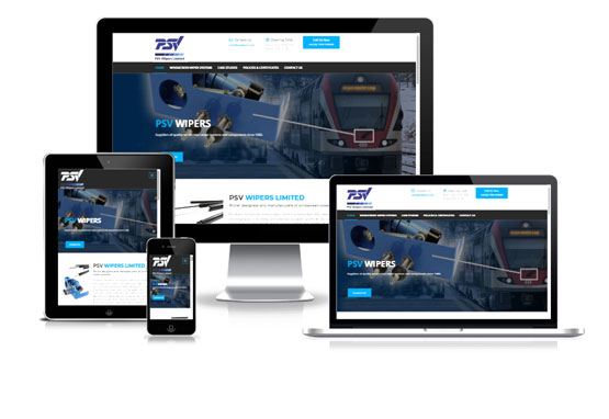 Visit PSV Wipers - Web Designer Stoke on Trent