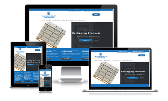 Packaging Products - Web Designer Stoke on Trent