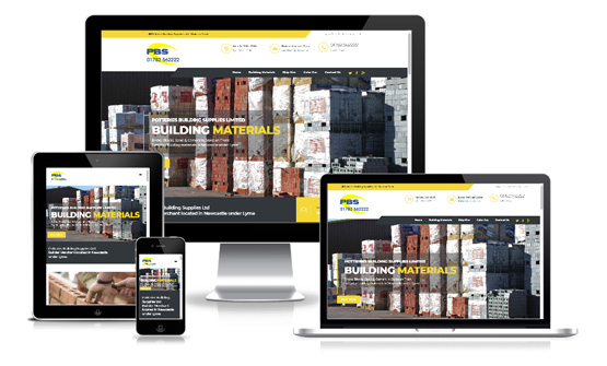 Potteries Building Supplies Ltd - Web Designer Stoke on Trent