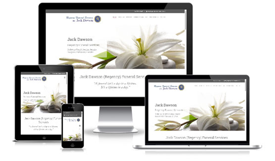 Regency Funeral Services  - Web Designer Stoke on Trent