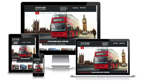 Stafford Bus Centre - Web Designer Stoke on Trent