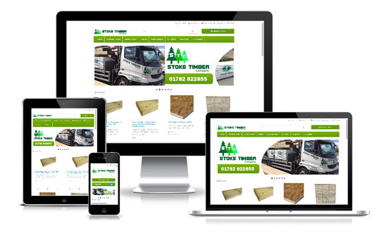 Stoke Timber Company - Web Designer Stoke on Trent