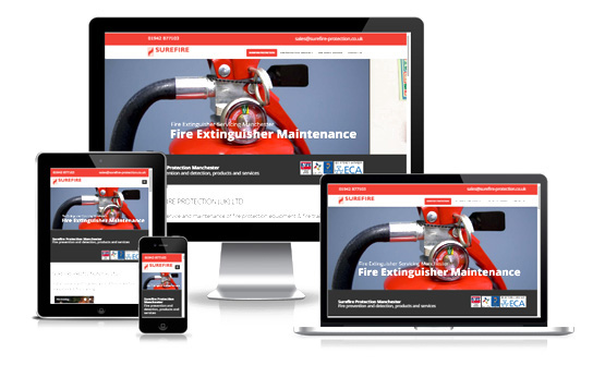 Surefire Protection - Web Designer Stoke on Trent