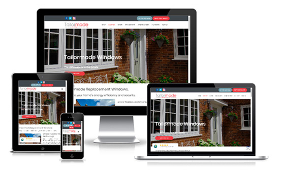 Tailormade Windows and Doors - Web Designer Stoke on Trent
