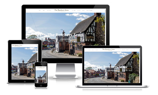 The Butchers Arms - Web Designer Stoke on Trent