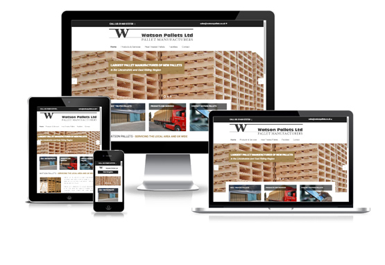 Watson Pallets - Web Designer Stoke on Trent