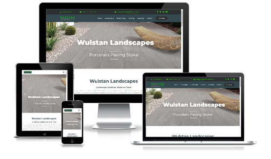 Wulstan Landscapes - Web Designer Stoke on Trent