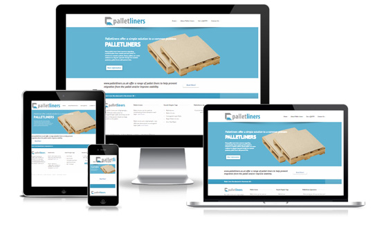 Palletliners - Web Designer Stoke on Trent